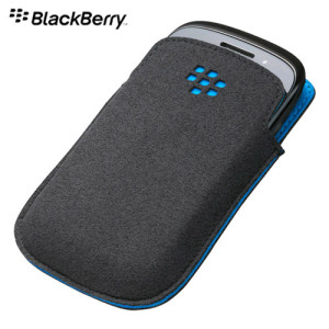 BlackBerry Curve 9320 Pocket - ACC-46639-202 - Black/Sky Blue