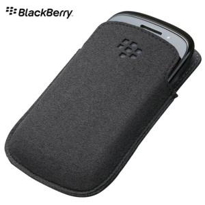 BlackBerry Curve 9370 / 9380 Pocket - ACC-46639-203 - Black/Grey
