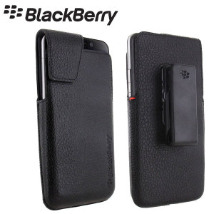 BlackBerry Leather Swivel Holster for Z30