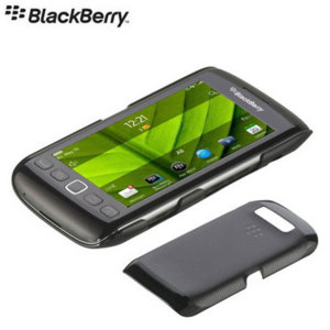 BlackBerry Original Hard Shell for Torch 9860 - ACC-38965-201 - Black