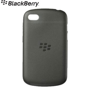 BlackBerry Soft Shell for BlackBerry Q10 - Black - ACC-50724-201