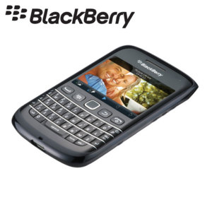 BlackBerry Soft Shell for BlackBerry Q10 - Blue - ACC-41835-204