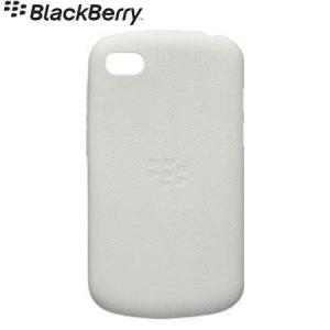 BlackBerry Soft Shell for BlackBerry Q10 - White - ACC-50724-202