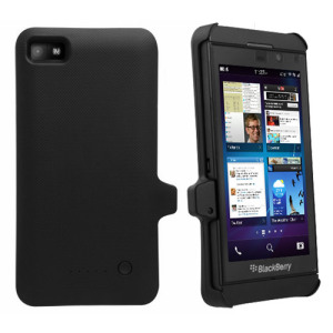 BlackBerry Z10 3000mAh Extended Battery Case - Black