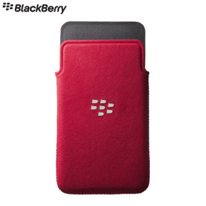 Blackberry Z10 MicroFibre Pocket - ACC-49276-202 - Red