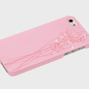 Bling My Thing Ayano Kimura Lotus Flower iPhone SE Case - Pink