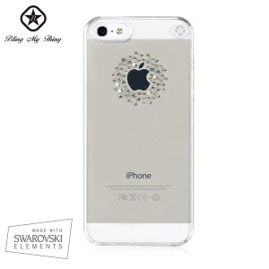 Bling My Thing Shadow iPhone 5S / 5 Case - Crystal