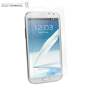 BodyGuardz Anti-Glare Galaxy Note 2 Screen Protector - Twin Pack