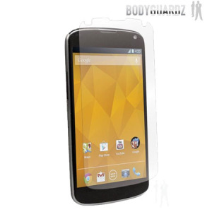 BodyGuardz Anti Glare Screen Protector for LG Nexus 4 - Twin Pack