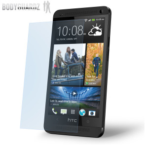 BodyGuardz HTC One Ultra Tough Screen Protector - Twin Pack