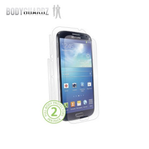 BodyGuardz Samsung Galaxy S4 Full Body Protector - Twin Pack