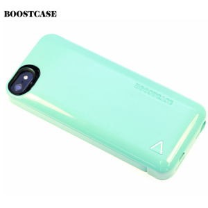 Boostcase Hybrid Snap Case with 1500Mah Battery for iPhone 5S/5 - Mint
