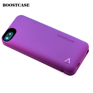 Boostcase Hybrid Snap Case with 1500Mah Battery iPhone 5S / 5 - Purple