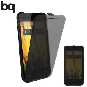 bq Second Skin Flip Case for Aquaris 5 HD - Black