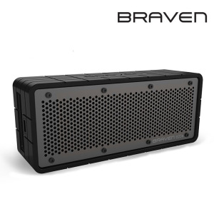 Braven 625s Portable Wireless Speaker - Black / Grey