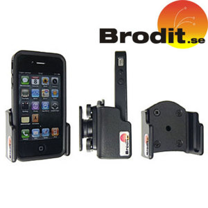 Brodit iPhone 4S / 4 Case Compatible Passive Holder with Tilt Swivel