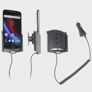 Brodit Motorola Moto G4 / G4 Plus Active Holder - Swivel & Cig-Plug