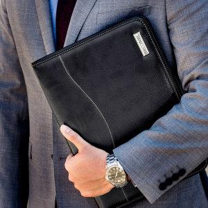 Broonel MacBook Pro 13 USB-C Genuine Leather Case - Black