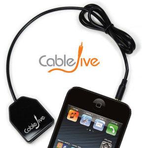 CableJive DockBoss Smart Audio iPhone 5S / 5 to Apple 30 Pin Adaptor