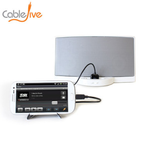 CableJive SamDock Apple Dock to Samsung Adapter