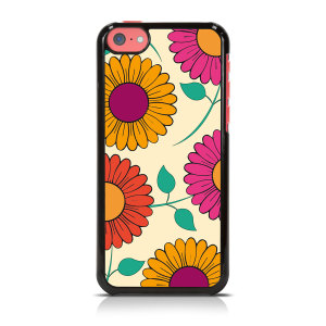 Call Candy Floral Collection iPhone 5C Hard Back Case - Gerbera Garden