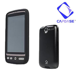 Capdase Alumor Metal Case - HTC Desire - Black