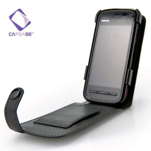 Capdase Classic Leather Flip Case for Nokia 5800 / 5230