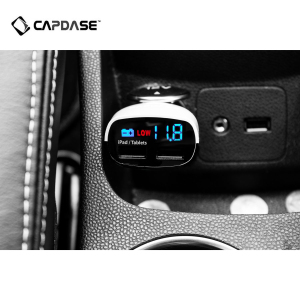 Capdase Dual USB In Car T2 Charger and Monitor
