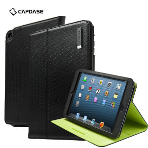 Capdase Folio Dot iPad Mini 3 / 2 / 1 Case - Black
