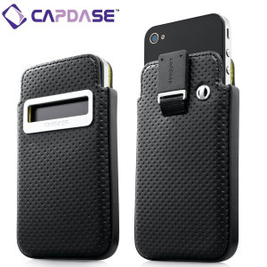 Capdase iPhone 4S / 4 Smart Pocket - Black