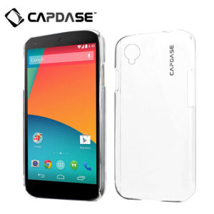 Capdase Karapace Jacket for Google Nexus 5 - 100% Clear