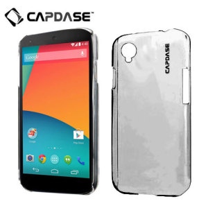 Capdase Karapace Jacket for Google Nexus 5 - Tinted Black