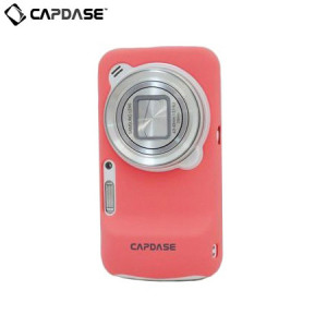 Capdase Karapace Jacket for Samsung Galaxy S4 Zoom - Orchid Pink