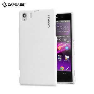 Capdase Karapace Touch Case for Sony Xperia Z1 - White