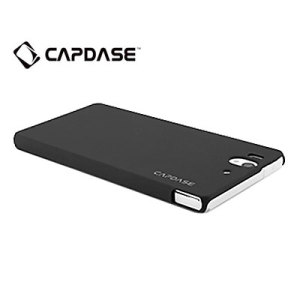 Capdase Karapace Touch Sony Xperia Z Case - Black