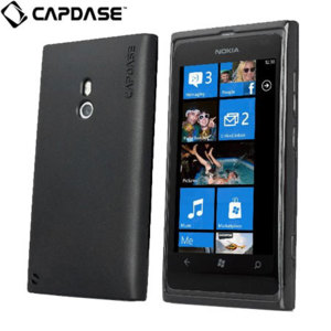 Capdase Nokia Lumia 800 Soft Jacket 2 Xpose - Solid Black