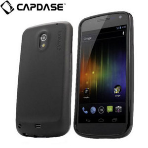 Capdase Samsung Galaxy Nexus Soft Jacket 2 Xpose - Solid Black