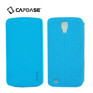 Capdase Sider Baco Folder Case for Galaxy S4 Active - Blue