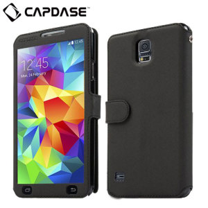 Capdase Sider V-Baco Folder Samsung Galaxy S5 Case - Black