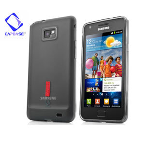 Capdase Soft Jacket 2 Xpose For Samsung Galaxy S2 - Tinted Black