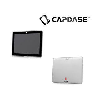 Capdase Soft Jacket 2 Xpose - Samsung Galaxy Tab 10.1 - White