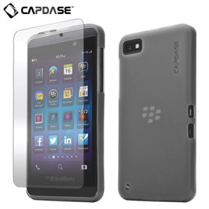 Capdase Soft Jacket Xpose for Blackberry Z10 - Smoke Black