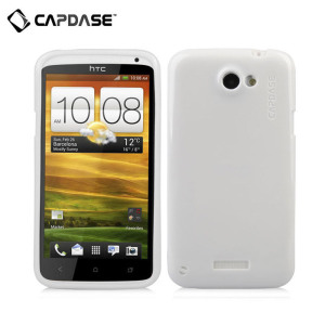 Capdase Soft Jacket Xpose Sparko - HTC One X - White