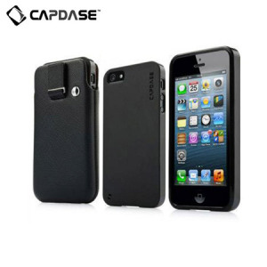 Capdase Xpose & Luxe Case Pack for iPhone 5S / 5 - Black