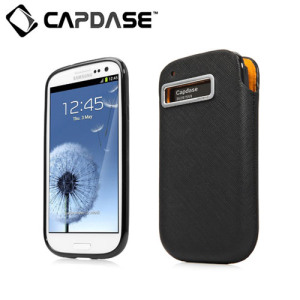 Capdase Xpose & Luxe Case Pack for Samsung Galaxy S3 - Black
