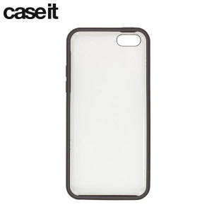 Case it Window Case for iPhone 5C - Clear / Black