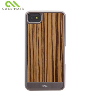 Case-Mate Artistry Woods Case for Blackberry Z10 - Zebrawood