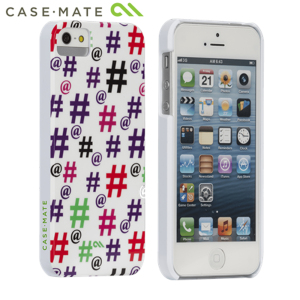 Case-Mate Barely There Case for iPhone 5S/5 - Hashtag Happy