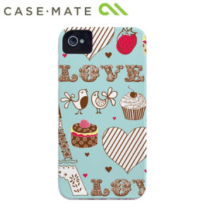 Case-Mate Barely There for iPhone 4 / 4S - Love