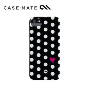 Case-Mate Barely There for iPhone 5/5S - Polka Love